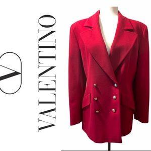 Valentino vintage red blazer